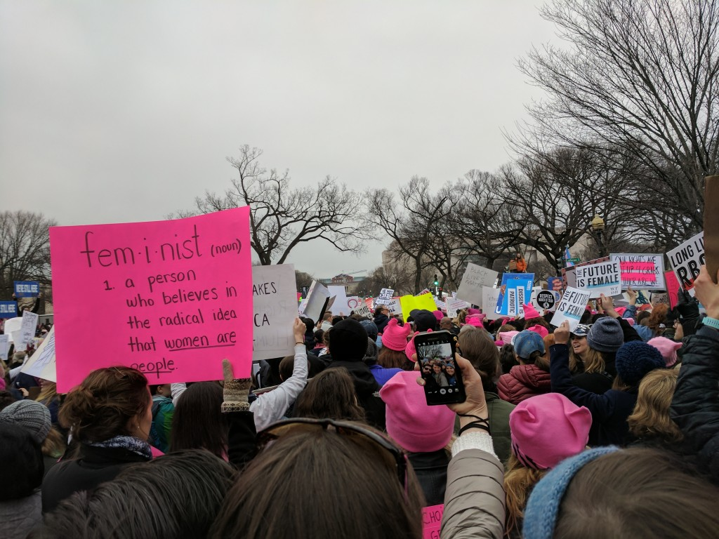 Women's March DC - 10
