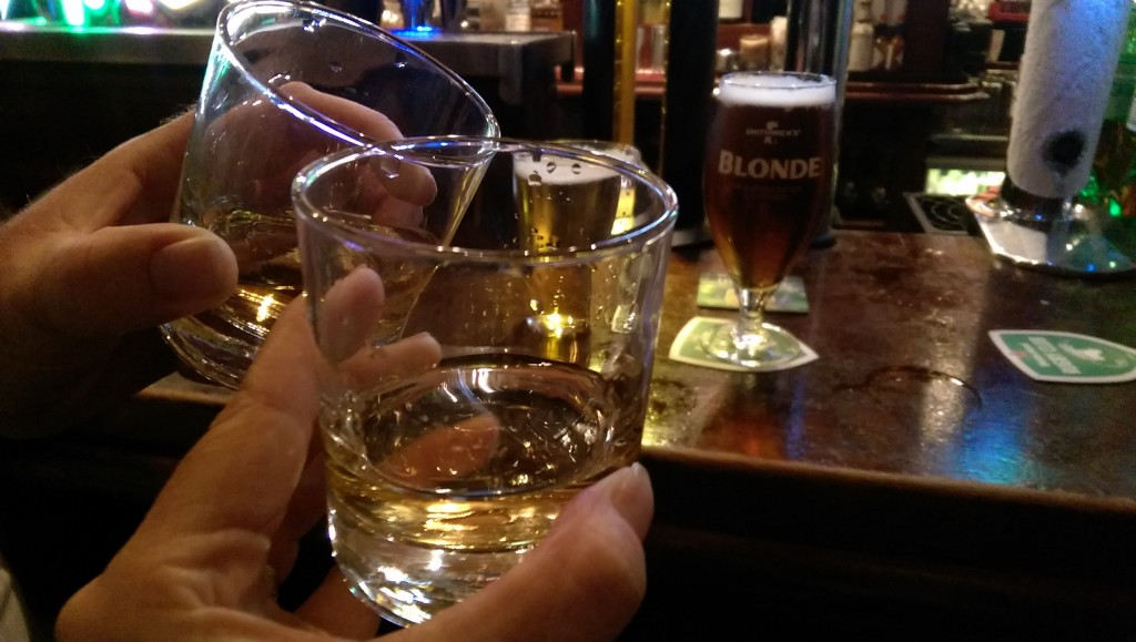 Temple Bar - Dublin - Whiskey_Beer chaser