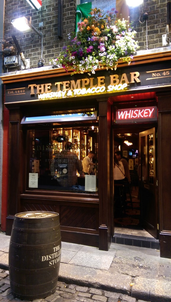 Temple Bar - Whiskey Tasting Room - Dublin