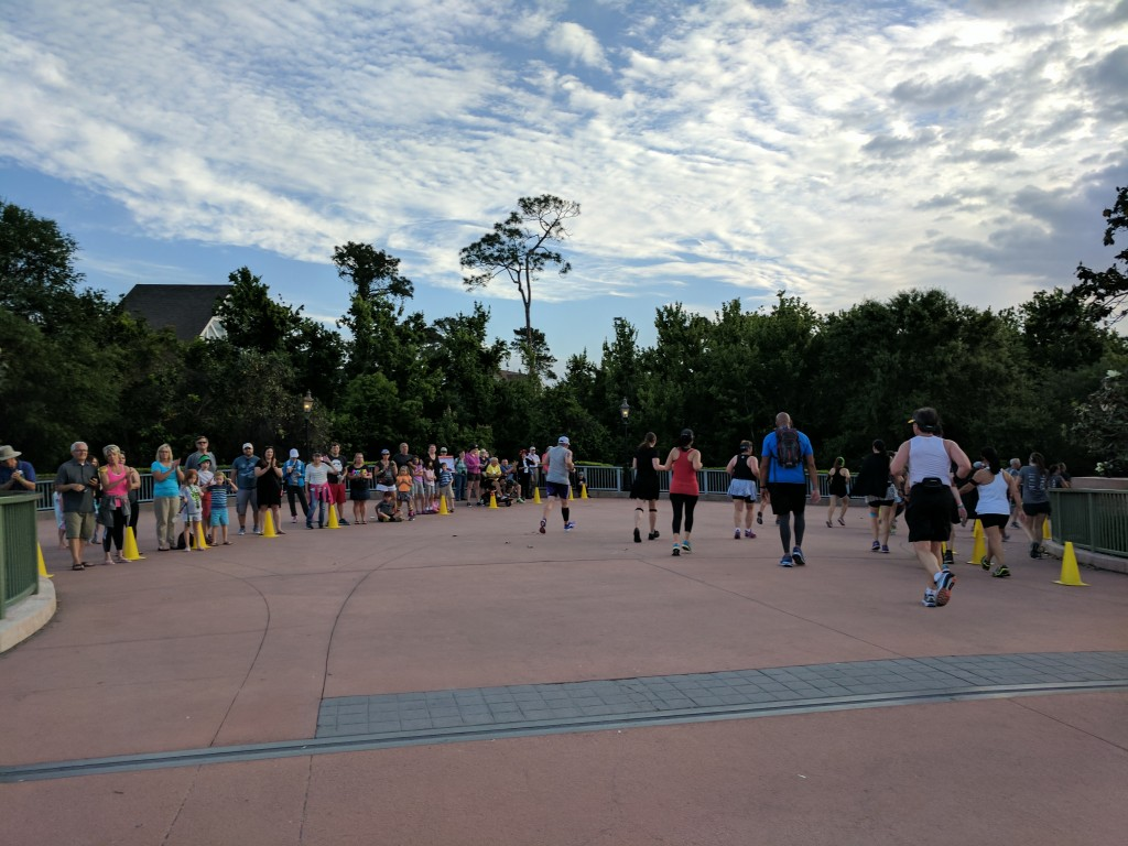 Star Wars Half Marathon - Epcot Bridge 2