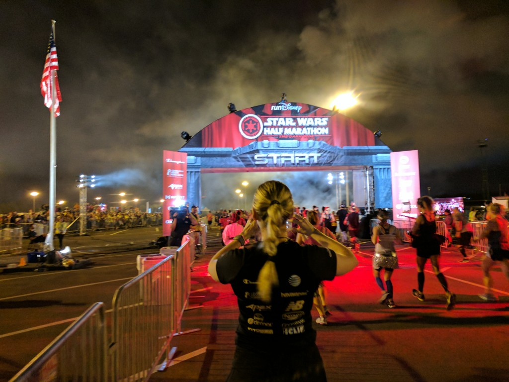 Start - Star Wars Half Marathon