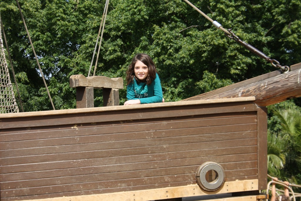 pirate -ship- Kensington Gardens-Emmalynn