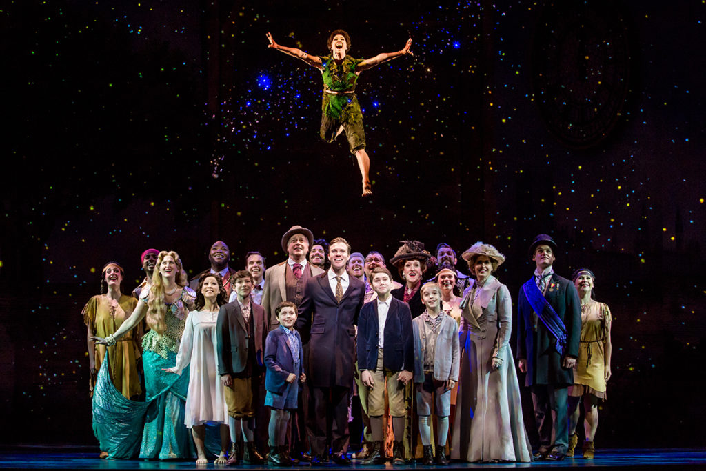 Finding Neverland Tour_cast