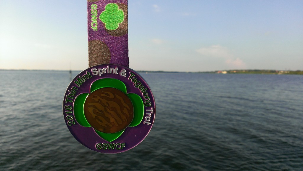 Thin Mint Sprint Medal