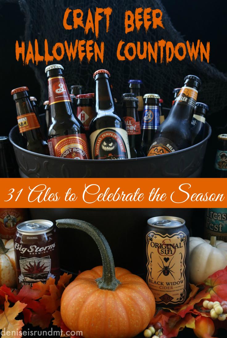Halloween Countdown Calendar With Seasonal Craft Beers