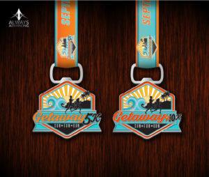 Getaway 10K 5K Medals
