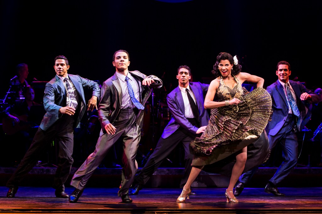 Joseph Rivera, Adriel Flete, Jeremey Adam Rey, Nancy Ticotin as Gloria Fajardo and Hector Maisonet - Photo by Matthew Murphy