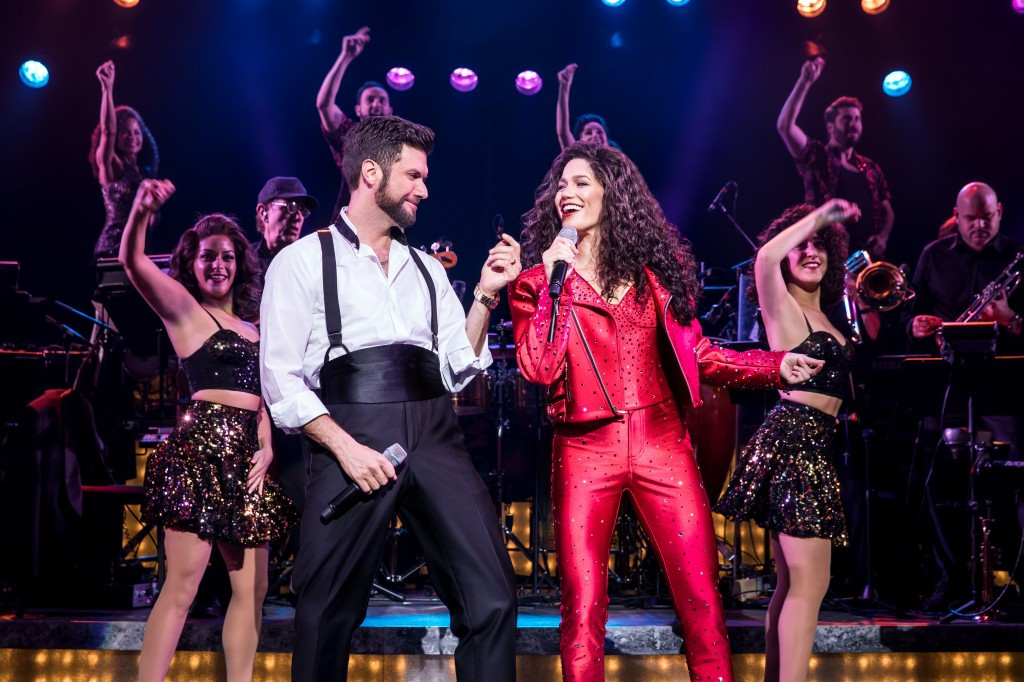 Mauricio Martinez as Emilio Estefan and Christie Prades as Gloria Estefan and Company - Photo by Matthew Murphy