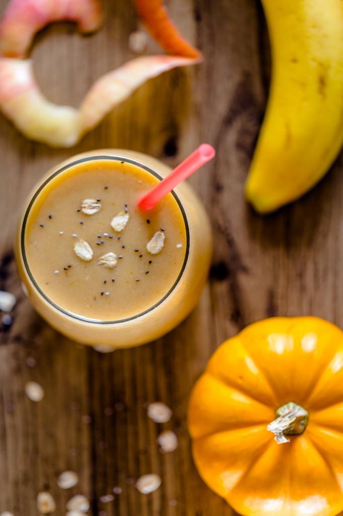 Pumpkin Apple Smoothie - Run DMT