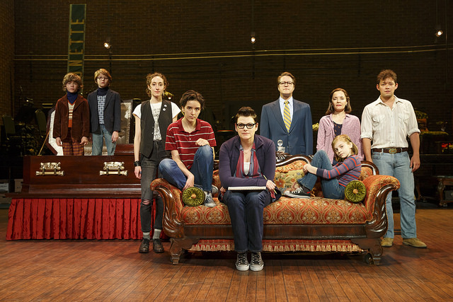 The National Tour Company of Fun Home. Photo: Joan Marcus