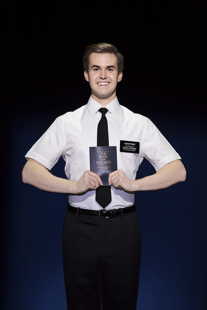 Kevin Clay - The Book of Mormon, Photo Credit: Julieta Cervantes