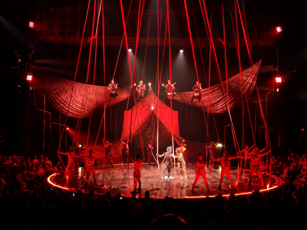 VOLTA - Cirque du Soleil -stunts