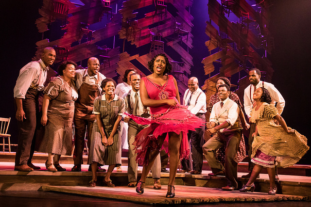 Carla R. Stewart (Shug Avery) and the cast of THE COLOR PURPLE -Photo Credit: Matthew Murphy