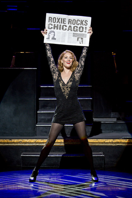 Dylis Croman as Roxie Hart- Photo credit: Jeremy Daniel