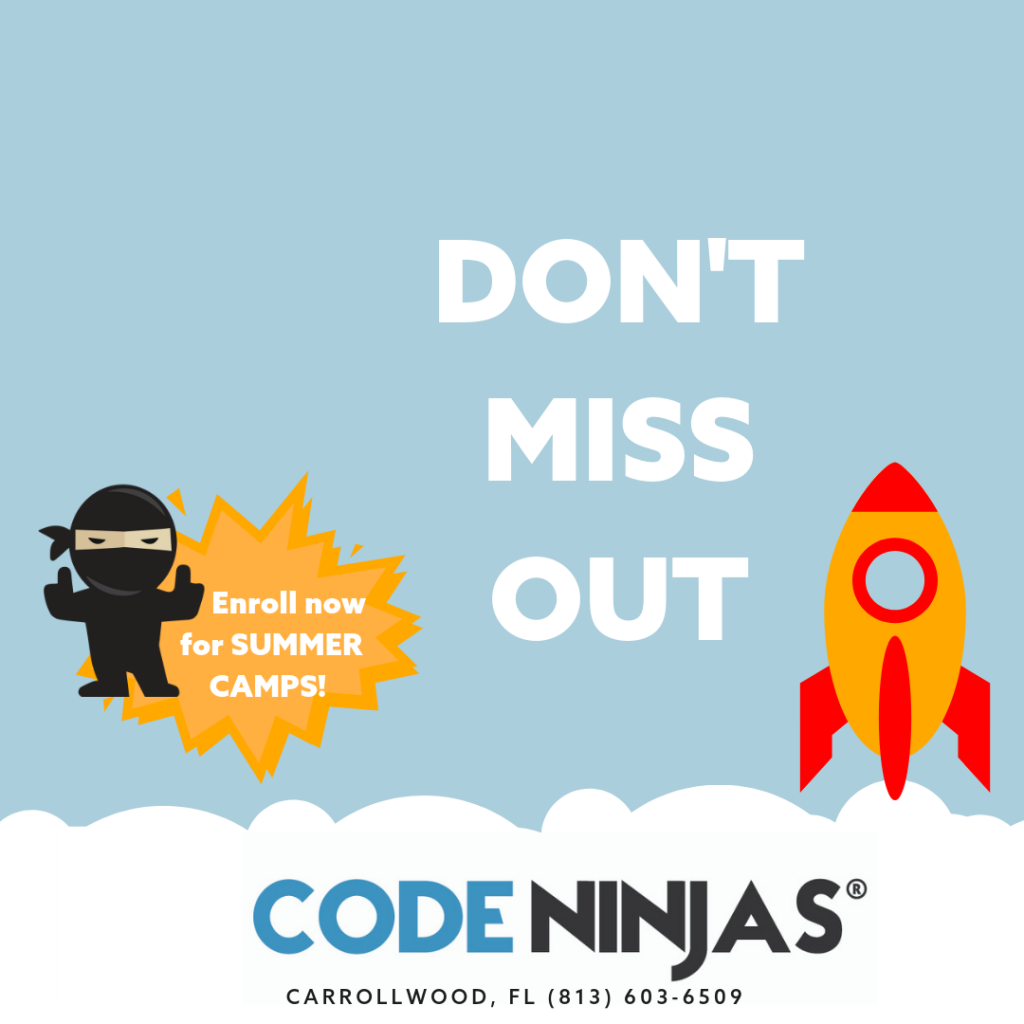 Camp Ninjas- Don't Miss Out