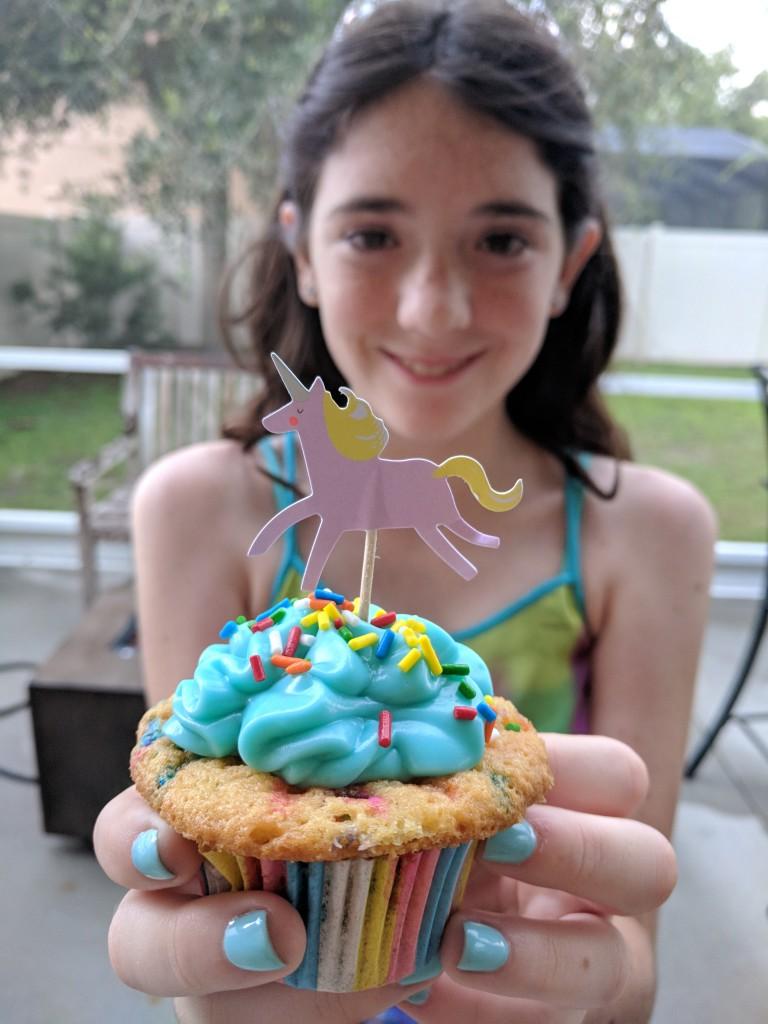 Emmalynn - Unicorn Funfetti Cupcake