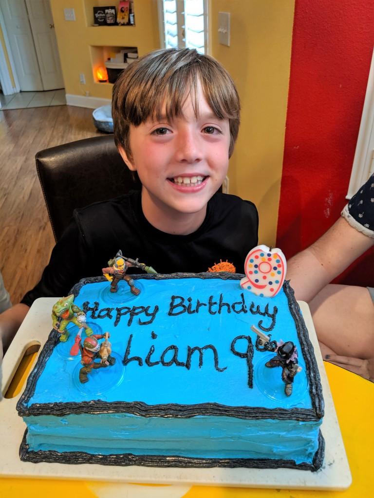 Liam- 9th birthday